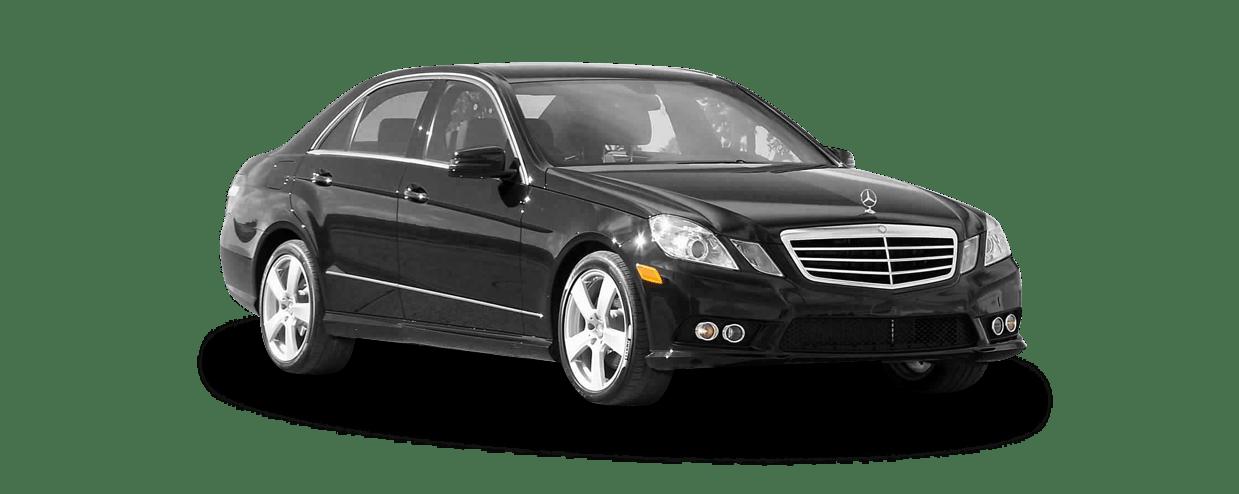 Blue bird limousine fleet for Mercedes benz fleet